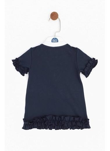 BG Baby Kız Bebek Mavi Elbise Lacivert